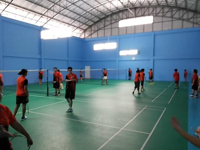 สนามแบดมินตัน ทรีโอแบดมินตัน Three-O Badminton