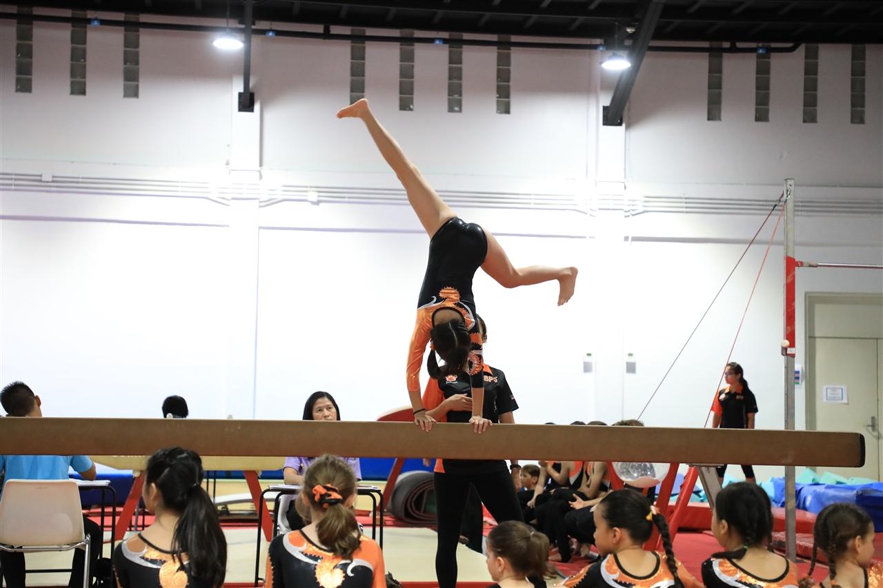 Bangkok Patana School's gymnastics