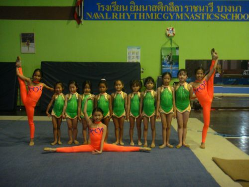 NAVY RHYTHMIC GYMNASTICS CLUB
