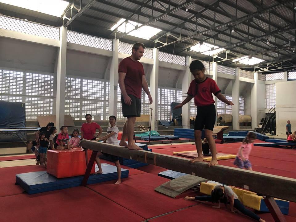 ศูนย์ฝึกยิมนาสติกสนามกีฬาเทศบาลนครเชียงใหม่