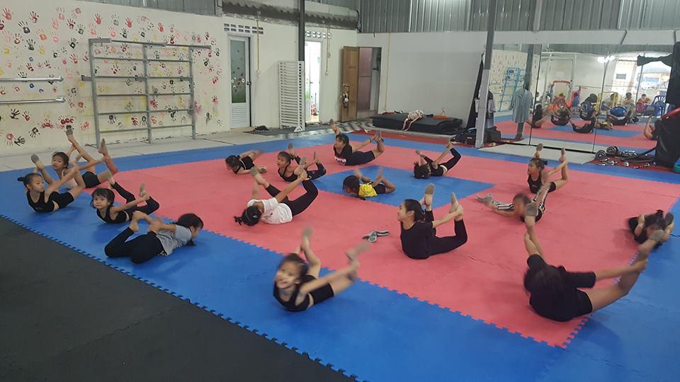 ยิมนาสติก ชลบุรี The Dream Gym